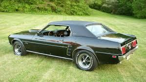 1969 mustang grande black 1969 ford mustang grande hardtop mustangattitude com