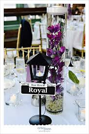 themed centerpieces for weddings new orleans themed centerpiece at windows on the river reception