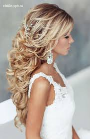 medium length wedding hairstyles down 2017