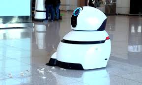 cleaning robots lg airport robots take over korea s largest airport lg newsroom