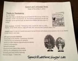 thanks for thanksgiving preschool plans speech room news