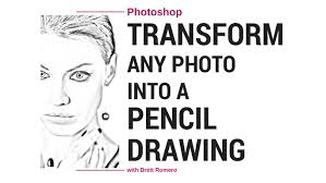 photoshop cc tutorial transform any photo into a pencil drawing