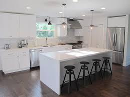 white kitchen islands home design