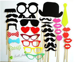 photo booth props for sale on sale photo booth props hat mustache on a stick wedding