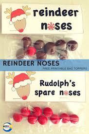 free printable reindeer activities reindeer noses free printable kidz activities
