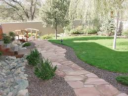 patio ideas with flagstone design images landscaping gardening