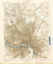 Fredericksburg Va Map Rfp Map Richmond Fredericksburg Potomac 1950 Rf U0026p Rr