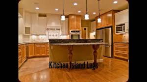 kitchen island legs kitchen island furniture youtube