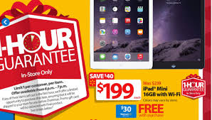 black friday deals on gift cards ipad mini with 30 gift card is walmart black friday 2014 deal