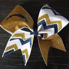 cheer bows uk blue and cheer bow cheerleading