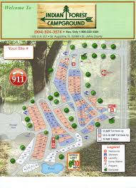 Map Of St Augustine Fl Indian Forest Campground 3 Photos St Augustine Fl Roverpass