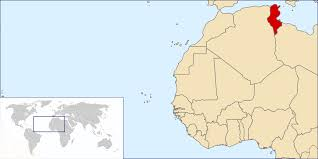 tunisia on africa map geography of tunisia