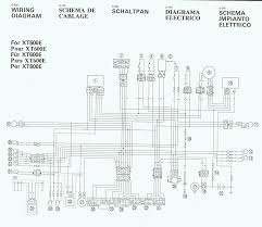 yamaha xt 250 wiring diagram wiring diagram and schematic design