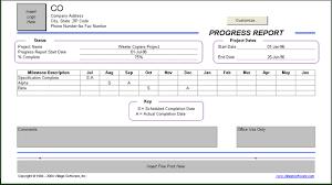 it progress report template progress report template