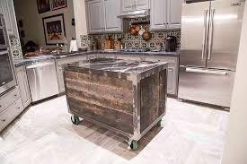 kitchen island rolling speckled black rolling kitchen island porter barn wood norma budden