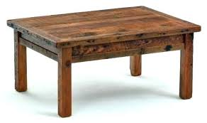 space saving end table barn board desk coffee table farm style hack pottery space saving