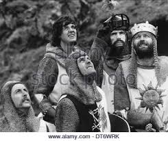 terry jones and michael palin of monty python with sue jones