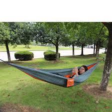 usa outdoor or indoor parachute cloth sleeping hammock camping