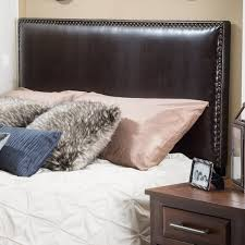 King Headboard by Adjustable King California King Bonded Leather King