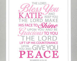 gifts for confirmation girl girl baptism gift baptism gift bible verse numbers 6