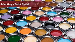 what is the best paint finish to use on kitchen cabinets selecting a paint finish best for interior house painting