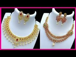 beautiful necklace gold images Beautiful designer gold jewellery collections beautiful designer jpg