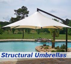 Awning Works Awning Works Hospitality Structured Umbrellas Over An Outdoor