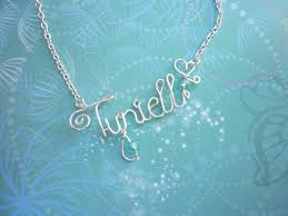 wire name necklace personalized wire word necklace wire name necklace personalized