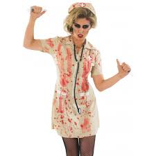 zombie nurse costume from halloween hq