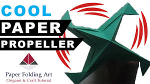 how to make paper propeller origami propeller how to make paper