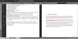 si e auto tex texmaker free cross platform editor