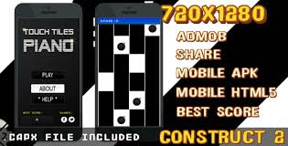 mobile mouse apk touch tiles piano admob apk html5 capx by