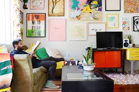 decor styles apartment therapy tour a los angeles musician s colorful playful apartment