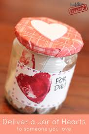 jar of hearts was filled with leftover christmas candy and love
