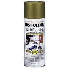 shop rust oleum stops rust burnished brass metallic enamel spray