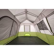 58 tent with room divider 10 person tent bundle set ozark trail