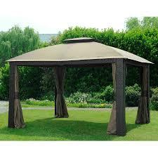 Big Lots Patio Gazebos by Outdoor Sunjoy Gazebo And Teak Patio Furniture Also Sunbrella