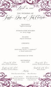 one page wedding programs one page wedding program tbrb info