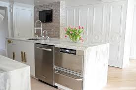 Kitchen Islands With Sink And Dishwasher Kitchen Island With Warming Drawer And Microwave Drawer And
