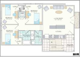 3 Bedroom Flat Floor Plan by Bedroom Medium 3 Bedroom Apartments Plan Plywood Throws Lamp