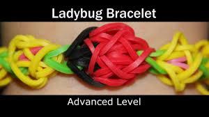 rainbow loom ladybug bracelet youtube