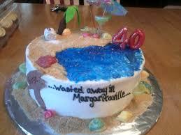 40th jimmy buffett themed cake cakecentral com