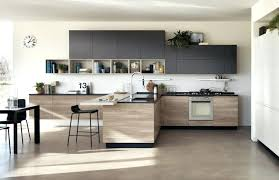 cuisine en bois moderne noir design et lzzy co