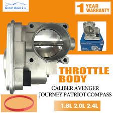 oem quality throttle body w gasket jeep dodge chrysler 4891735ac