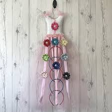 bow holder bead cord pink tutu dress hair bow holder organizer