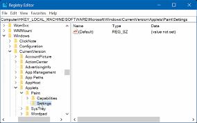 Classic Paint Enable Classic Paint Program In Windows 10 Creators Update
