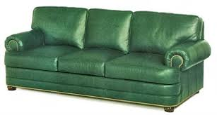 Green Leather Sectional Sofa Green Leather Sofa Impressive Ideas Decor Great Green Leather