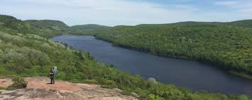 Porcupine Mountains State Park Map by Porcupine Mountains Wilderness State Park We Found Adventure