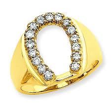 mounting rings images 14k mens diamond horseshoe ring mounting jpg