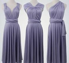 light grey infinity dress violet maxi convertible dress twist wrap dress bridesmaid violet